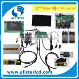 VGA +HDM+AV LCD driver board +LCD M101NWT2 1024*600 +OSD keypad with cable+Touch screen with control card+Remote control