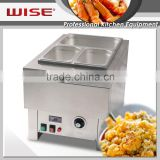 WISE Kitchen Stainless Steel Water Bath Chafing Dish Buffet Food Warmer For Commerical Restaurant Use