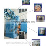 Hanger shot blasting cleaning machine / hook type shot blasting machine ( Q376,Q378,Q3710,Q3720)