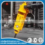 widely used amazing quality low price soosan top type hydraulic rock breaker