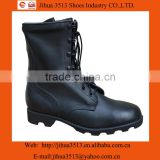 Full-grain cow leather military boot with good quality rubber sole can Customized to your specifications