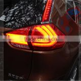 Factory direct New Products For X-TRAIL Tail Light LED Tail Lamp For Nissans Sunny Red Smoke Black Barke+running light