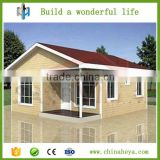 2016 export China cheap one bedroom prefabricated houses kiosk kits booth villa for sale