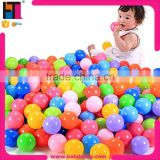 Best qualtiy 9cm 8cm 7cm 6cm 5cm wholesale kids plastic ocean balls pool                                                                         Quality Choice