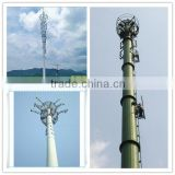 Single Tube Communication Tower/ Steel Tubular Pole /Steel Tubular Telecommunication Pole