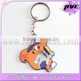 2016 Promotional gifts rubber PVC animal keychain/PVC animal keyring/PVC animal keyholder
