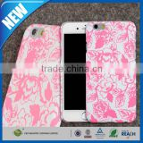 C&T Glow in the night dog shape hard case with imd printing design for iphone 6 plus