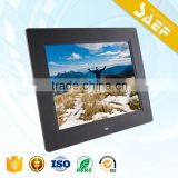 with remote control digital photo frame 800*600/1024*768 digital photo frame 8 inch SD Card 8 inch digital photo frame