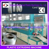 PET high-strength fibers polyester fibers strip production line / pet pp glass fibre cord composite strap production line