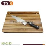 High qualily 8 inch chef knife with chopping board set
