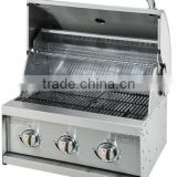 Vertical panel CE Approval Electronic Ignition SUS201 Stainless Steel Built in Gas Grill Head A213S