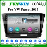 Hot Sale Android car dvd player with car gps navigation multimedia system for VW Passat 2016 radio bluetooth 3G wifi