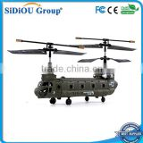 Sidiou Group S026 G 3-Channel RC Micro Chinook Gyro Helicopter Indoor design