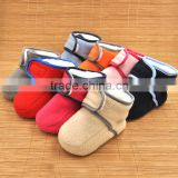 2016 Wholesale Fluffy Animal Warm Winter Indoor Slipper Plush Baby Shoes