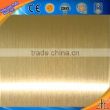 Hot! Top 500 tons output aluminum carport panels/ aluminum i beam / gold and sliver brushed colors aluminum trim