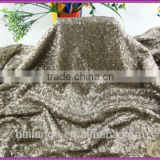 French designed embroidery sequin table linens fabric for wedding party