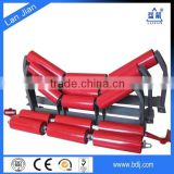 China menufacturer factory price Hebei Lanjian rubber coated ceramic conveyor belt roller