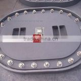 Marine Manhole Cover Type D/ manhole cover hinged type