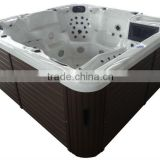 121 JETS hot tub acrylic inflatable spa pool with sex video