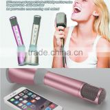 Mini karaoke microphone bluetooth for Smartphones and PC