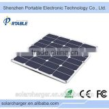 wholesale high efficiency waterproof portable mini 50W Cheap Solar Panel For India Market