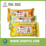 10CT FDA BV Approved Organic Kids Wet Wipes Tissue