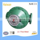 LC Oval Gear Flow Meter/fuel oil flow meter for diesel, kerosene mechanical measurement flow meter