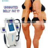 new technology Coolplas vacuum cooling beauty Machine ice freezing fat reduce body slimming device