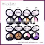 baked 3 color eyeshadow Powder Palette