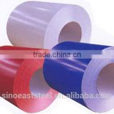 Hot !! Chinese PPGI mill supply prepainted color coated galvanized steel sheet / plate in coil roll factory price