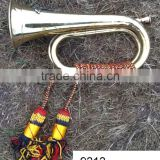 Decor Supplier of BRASS HUNTING HORN - 9313