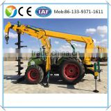 2016 Factory price Hydraulic Earth Drilling Machine bored piling equipment hydraulic post hole digger