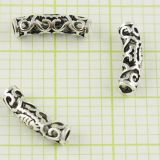 Personalized DIY Sterling Silver Jewelry Beads For Bracelet