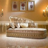 Elegant Stylish Chaise Lounge, Alternative Fashion Day Bed Sofa with Hanging Fringe Skirt, Individuality Design Chaise Lounge