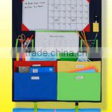 multi-function homework caddy/ No more mess non-woven box/ packing storage folder folding file bag