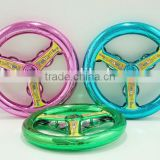 2014 plastic toys customized plastic tambourine for children