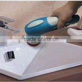 Cordless electric scrubber, electric power scrubber for kitchen and bathroom, electric hand scrubber