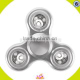 Top sale fidget hand spinner 608 ceramic bearing fidget hand toy spinner for release pressure W01A270-S
