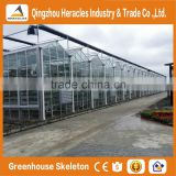 Heracles trade assurance greenhouse equipment- venlo type glass panels greenhouse for sale