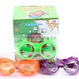 fruits design funny creative ABS colorful party wear glasses with ASTM
