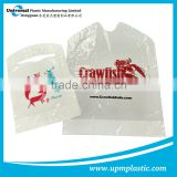Disposable Restaurant Plastic PE bibs apron with crumb catacher