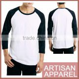 flannel Black Raglan white T-Shirt Custom Blank Cotton High Quality men Hoodies Clothing