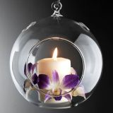 Christmas candle holder glass candle holder  wholesale candle hoder birthday gift candle holder