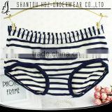 Hot sexy young girl thong cheap wholesale striped panty women sleeping underwear women wearing panties
