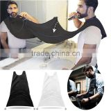 2016 New Beard Apron Gown Robe Trimmer Shaving Beard Catcher New Year Gift For Father Boyfriend Health Care Styling Accessory