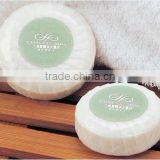 High end hotel pleat natural beauty bath soap
