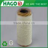 80tex(7S) Carded Raw White Yarn Open End Yarn Recycled/Regenerated Cotton jeans Yarn for knitting