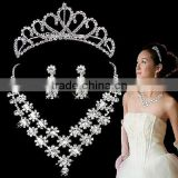 2014 New Hot Bridal Crown Wedding Jewelry Set Accessories