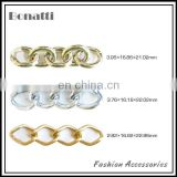 aluminum chains for clothes