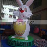 Hot Sunway Giant Inflatable Animals Figure / Inflatable Rabbit